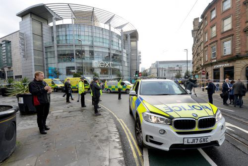 Die Polizei konnte am Tatort einen 40-jährigen Mann festnehmen. reuters