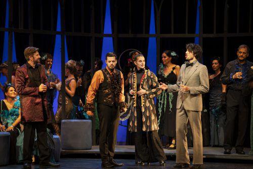 """Die Proben für die Operette """"Die Fledermaus"""" laufen auf Hochtouren. Die Premiere findet am Freitag statt. MTVO/Lampelmayer"""