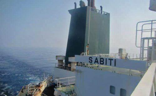 """Die """"Sabiti"""" wurde angeblich von Raketen getroffen. AFP PHOTO/HO/IRIB"""