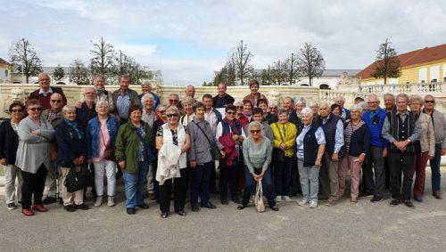 Die Teilnehmer der Herbstreise ins Burgenland.???PV Bludesch