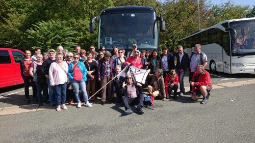 Die Teilnehmer der Jubiläumsreise.Dornbirn 59er