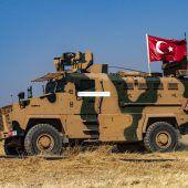 Türkei verlegt Soldaten an türkisch-syrischer Grenze