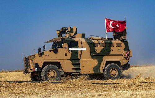 Die Türkei bewegt an der Grenze zu Syrien ihre Truppen.AFP