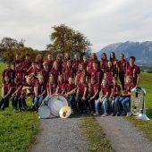Jungmusikanten aus Weiler im neuen Häs