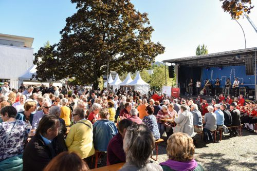 Ein großes Fest als Höhepunkt der 100-jährigen Vereinigung von Rieden & Vorkloster. udo ttelberger