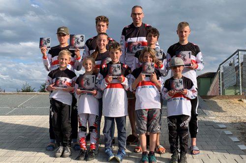 Ein starkes Bludenzer Team.BMX-Club Sparkasse Bludenz