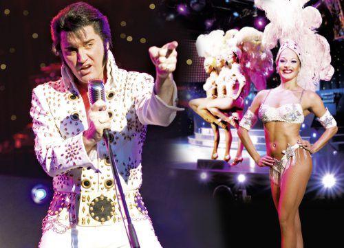 Elvis Presley gilt als der erfolgreichste Solokünstler aller Zeiten. showfactory