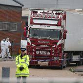 39 Leichen in Lkw: Fahrer wird angeklagt