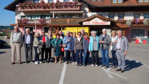 Es war ein schöner Ausflug durch den Bregenzerwald.Nüziger Jahrgang