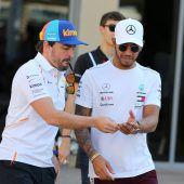 Alonso kritisiertHamiltons Klimaideen