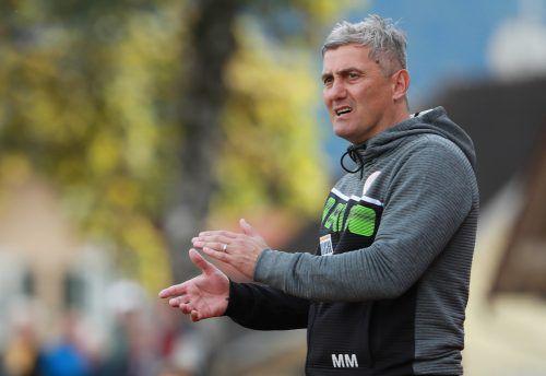 FCD-Trainer Markus Mader wünscht sich zum Jubiläum Punkte im Auswärtsspiel seiner Mannschaft bei den Juniors OÖ.gepa