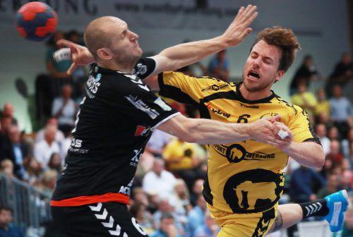 Zu Hause verloren Lukas Frühstück und Co. gegen Bärnbach 24:29 und in der Steiermark gewann man zuletzt 27:25. GEPA