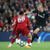 Dramatik pur! Salzburg verliert nach toller Aufholjagd gegen Liverpool 3:4. C1