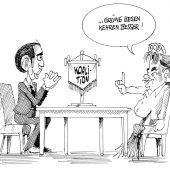 Sondierungsgespräche!