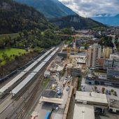 Bahnhofcity Feldkirch nimmt Form an