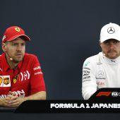 Ferrari versagt am Super-Sonntag und Mercedes bejubelt WM-Titel