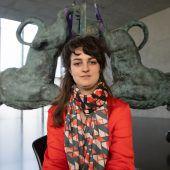 Raphaela Vogel erweist sich im Kunsthaus Bregenz als Löwenbändigerin. D6