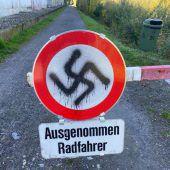 Nazi-Schmierereien