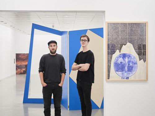 Florian Huth und Simon Nagy haben sechs Wochen in Lustenau gelebt und gearbeitet. Galerie Hollenstein/kuzmanovic