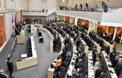 Fünf Parteien schafften den Einzug in den Nationarlat. Zu den 183 Abgeordneten werden auch sechs aus Vorarlberg zählen.APA