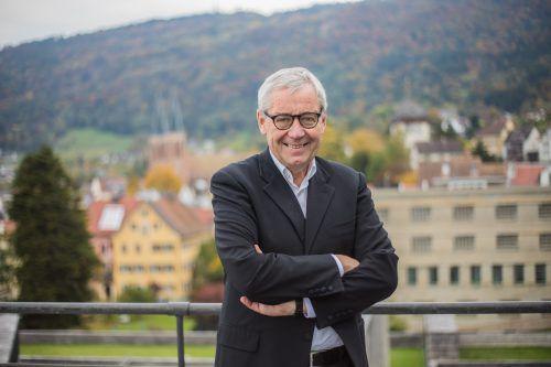 Hat eine neue Aufgabe: Karlheinz Rüdisser übernimmt bei der Vogewosi. VN/Steurer