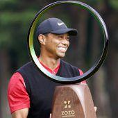 Woods egalisierteSnead-Rekord