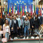 Gymnasiasten besuchten EU-Parlament