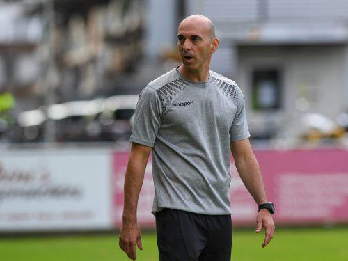 Harald Dürr feiert gegen Rankweil notgedrungen ein Comeback.Lerch