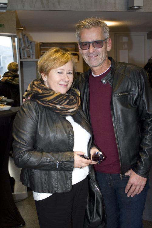 Harald Nussbichler mit Sabine (Vögel Schuhe).