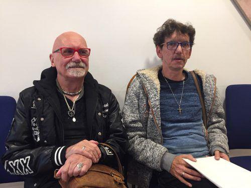 Hartmut (l.) und Herbert Rodewald hatten mit ihrer Beschwerde beim Landesverwaltungsgericht Erfolg. vn/GS