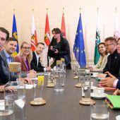 Grüne loben respektable Sondierungsrunde mit ÖVP