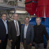 Das Kleinkraftwerk Alvierbach geht ans Netz