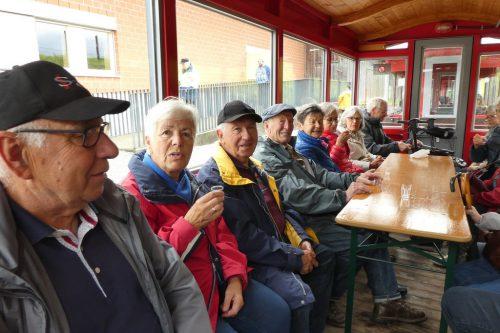 Im Bauhof der internationalen Rheinregulierung konnten sich die Senioren ausführlich erkundigen.seniorenbund götzis/M. berg