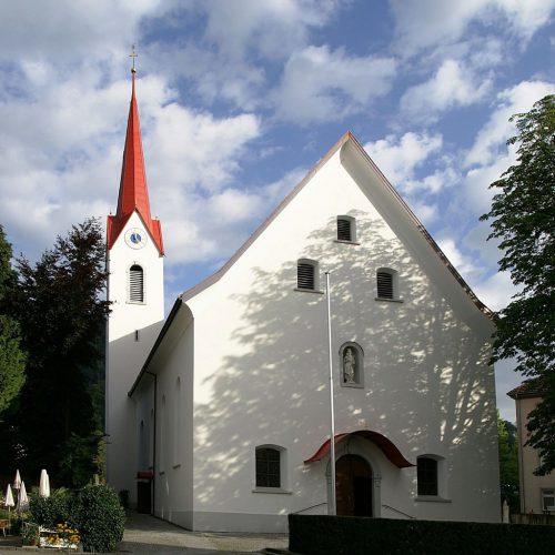 In der Pfarre Haselstauden findet erstmals wieder eine Lourdes-Segnung statt bet