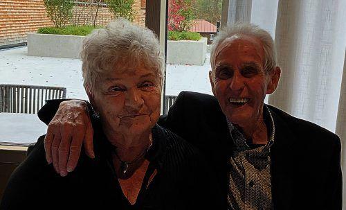 In fröhlicher Runde konnten Sieglinde und Werner Fröwis ihre diamantene Hochzeit feiern.