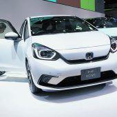 Ein Kleiner im Rampenlicht: Honda setzt den Jazz unter Strom