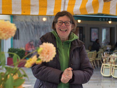 Ingrid Benedikt war für den Obst- und Gartenbauverein und die Initiative Offener Kühlschrank Dornbirn vor Ort.