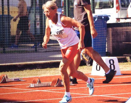 Jacqueline Wladika erfolgreiche Starterin bei den Master-Europameisterschaften in Italien. tsl