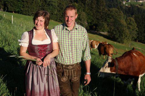 Jakob und Cornelia Mathis gehen in der Berglandwirtschaft eigene Wege. Die Qualität von Mathis' Käse wurde nun auch von einer Jury bestätigt. Hofsennerei Mathis