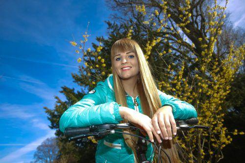 Jetzt gibt es für Radfreunde wie Madeleine einiges zu beachten. vn/paulitsch