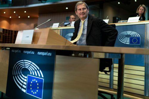 Johannes Hahn startet als EU-Kommissar in seine dritte Amtszeit.AFP
