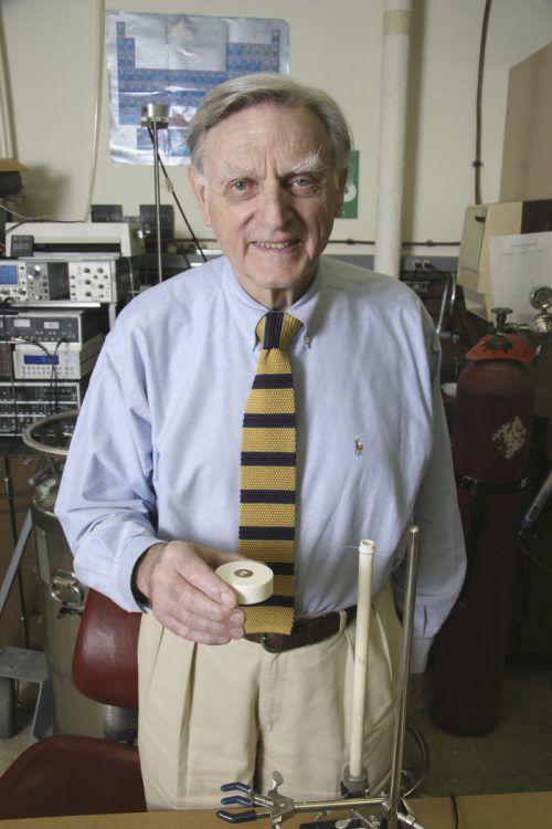 John Goodenough ist mit 97 Jahren der älteste Nobelpreisträger überhaupt. AFP