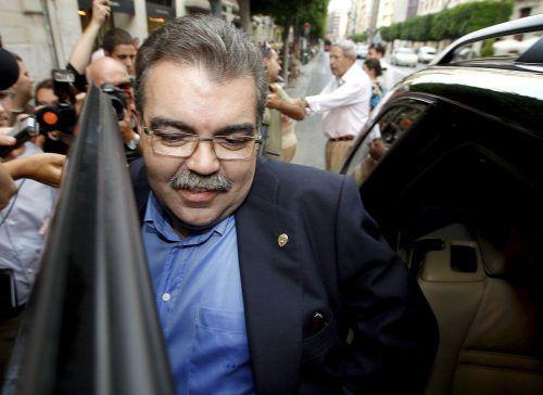 Juan Soler muss wegen geplantem Kidnapping hinter Gitter.epa