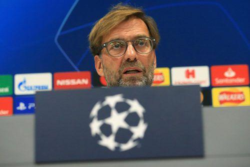 Jürgen Klopp gab zu, dass ihn die Höhe von Salzburgs Auftaktsieg überrascht hat.afp