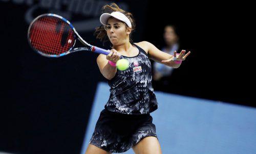Julia Grabher hat bislang 18 Partien im Fed Cup gespielt. Im Einzel gab es zwei Siege und fünf Niederlagen und im Doppel zwei Siege und neun Niederlagen.GEPA