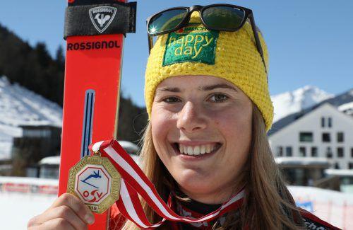 Katharina Liensberger bekam von Dalbello vorläufig eine Absage. gepa