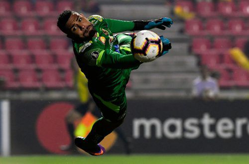 Kolumbiens Teamtorhüter muss nun eine Dopingsperre absitzen.afp