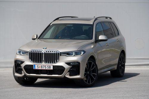 Komfortabler Hochsitz: der großspurige BMW-SUV X7 gibt den schubkräftigen Raumstifter. VN/Stiplovsek