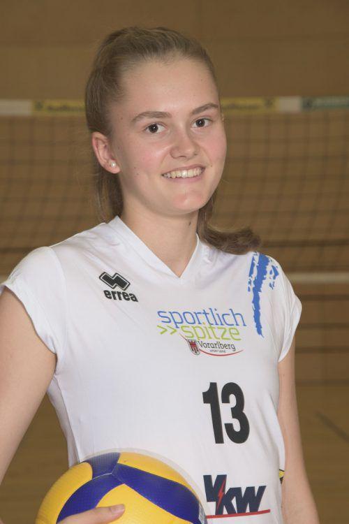 Lina Hinteregger überzeugte mit 34 Scorerpunkten.vcd