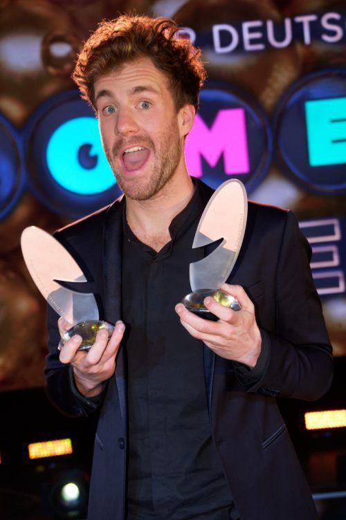 Luke Mockridge wurde von den Zuschauern zum besten Komiker gewählt.